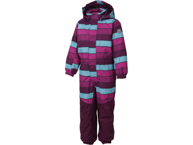 Color Kids Klement Padded Coverall Kids Berry | campz.de